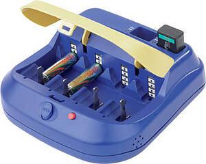 Turbo 6 - sprekende batterijlader