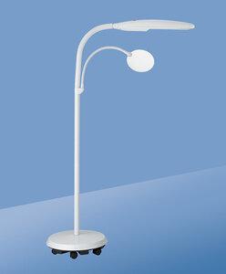 Vloerlamp op wielen, met loep - Daylight D23030-01